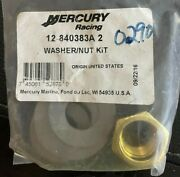 Mercury Mariner Outboard Parts 12-840383a2 Washer/nut Kit