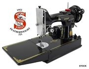 Vintage 1953 Singer Featherweight 221 Sewing Machine With Everything And More
