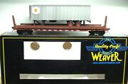 Weaver O Scale 50and039 Flat Car With 35and039 Trailer Prr Pennsylvania 2 Rail