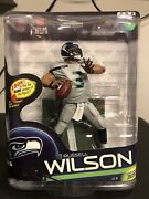 Mcfarlane Nfl Series 33 Russell Wilson Collector Level Chase Variant 72/2000