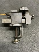 """Vintage Pexto 2-1/2"""" Clamp On Vise Made In Usa"""