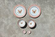 Chinese Export American Armorial Porcelain Set Of Six Pieces