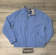 Peter Millar Crown Crafted Stealth Insulated Jacket Nwt Size Xl 298 Light Blue