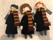 Nwt Pottery Barn Kids Harry Potter Set Of 3 Plush Christmas Ornament Sold Out