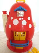 Vintage 1988 Matchbox Mushroom Toadstood House Play With Accessories