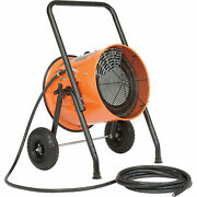 Portable Electric Salamander Heater, 480v 15 Kw 3 Phase With 25'l Cable