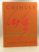 Chihuly Form From Fire - 1993, Signed In Paint By Dale Chihuly