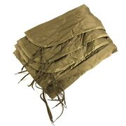 Coyote Brown Woobie All Weather Poncho Liner Blanket Camping Military Style Gear