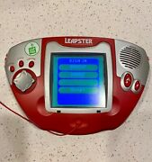 3 Leap Frog Games 1 Red 2 Blue Leapster Multimedia Learning System Tested.