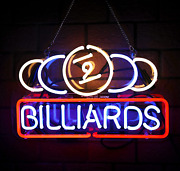 Billiards Real Glass Neon Signs Beer Bar Club Bedroom Neon Lights For Office Hot