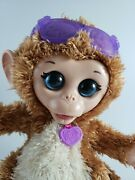 Furreal Friends Monkey Baby Cuddles Giggly Pet Plush Interactive Toy Gift 7