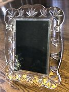 Waterford Crystal Velveteen Rabbit Picture Frame Large 9x7 Very Good Condition