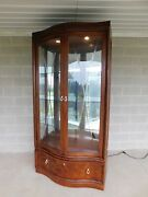 Thomasville Bogart Collection Lighted China Cabinet 44w X 88h