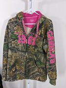 Cabelas Womens Jacket Size Xl Seclusion 3d Attached Hood W/draw Cord