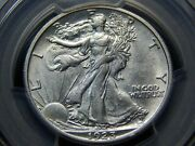 1923-s 50c Walking Liberty Half Dollar Au-55 Pcgs Better Date Nice And White