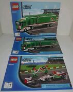 Instructions Only Lego City Manual Books From Set 60009 60025 4439