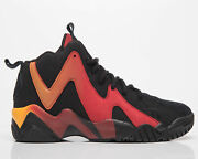 Reebok Classics Kamikaze Ii Menand039s Black Red Gold Casual Lifestyle Sneakers Shoes