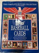 Topps Baseball Cards Complete Picture Collection 1951-1990 40 Year History Oop
