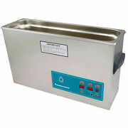 Ultrasonic Table Top Part Cleaning System - Digital Timer/heat/power Control