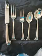 Onslow By Tuttle Sterling Flatware Set 20 Piece With Cream Soups