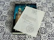 Holy Russia By Fitzroy Maclean Signed Note Wwii Churchill Ian Fleming James Bond