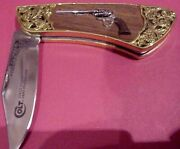 Franklin Mint The Official Colt .45 Caliber Army Peacemaker Collector Knife
