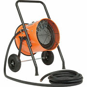 Portable Electric Salamander Heater,480v - 30 Kw - 3 Phase With 25'l Cable