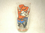 Vintage 1970's Dudley Do-right 6.25 Drinking Glass P.a.t. Ward Productions Nice