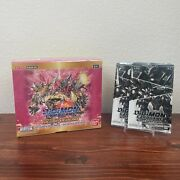 Digimon English Tcg Great Legend Booster Box With 2 Great Dash Packs Bt04