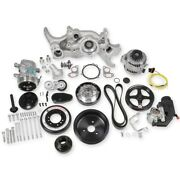 Holley 20-190 Ls Premium Mid-mount Complete Accessory Drive Kit Fits Ls7 And Ls En
