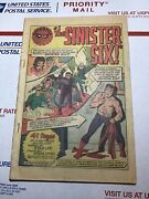 Amazing Spider-man Annual 1 Coverless Missing Pages1st Sinister Six Marvel 1964