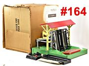 Lionel Pw 164 Operating Log Loader W/box + Logs Controller /390/ 1946-50