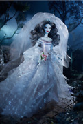 🕸 Barbie Haunted Beauty Zombie Bride 🕸 Collector Doll Nrfb 2015 W/shipper Nfrb