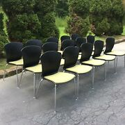 Lot Of 15 Thonet Carina Chairs Designed By G Baccolini Lodi Italy - Nice
