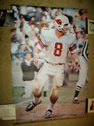 Super Rare 1970 Larry Wilson Sports Illustrated Si Poster St.louis Cardinals Nfl