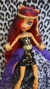 Monster High Clawdeen Wolf's 13 Wishes Outfit And Accessories - No Doll