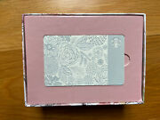 2015 Limited Edition Mother's Day Ceramic Etched Starbucks Gift Card Collectible