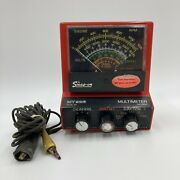 Vintage Snap On Mt-926 Multimeter - Ohms Volts Dwell Rpms - 4 5 6 8 Cylinders