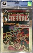 The Eternals 2 Cgc 9.6 Nm | White Pages | 1st App Of Ajak And The Celestials