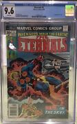 The Eternals 3 Cgc 9.6 Nm+ | White Pages | 1st Appearance Of Sersi