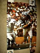 Very Rare 1974 John Riggins Studio One Sports Illustrated Si Poster Ny Jets Nfl