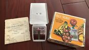Vtg Collectible Diet Scale W/ Calorie Chart Made In Hong Kong For Nob Hill House