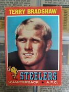 1971 Topps Football Complete Card Set 1-263 Vg Or Better Terry Bradshaw Rookie