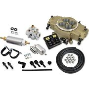 Holley 550-872k Sniper Stealth 4150 Self-tuning Fuel Injection System Master Kit
