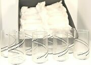 Vintage Crisa By Libbey Clearly Glassware 16 Oz Set Of 10 Glasses Nos Retro Chic