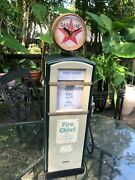 Heavy Vintage Fire Chief 24 Gasoline Pump For Pedal Car Display, Nice, L@@k