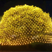 Twinkle Star 360 Leds Christmas Net Lights, 12ft X 5ft 8 Modes Low Voltage Conne