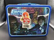 1980 Vintage Star Wars The Empire Strikes Back Lunchbox W/ Thermos S-6d
