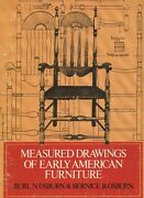 Early American Furniture Measured Patterns For Reproduction / Scarce Book