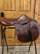 County Saddle Innovation / Counquest Hybrid 17.5 Mn Sr With Gussets